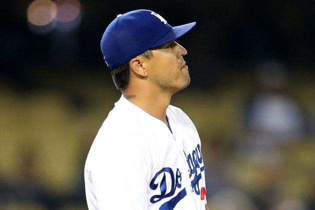 "Dodgers to Use Demoted Closer Brandon League in ""Less Stressful"" Situations"
