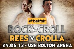 Gavin Rees vs. Anthony Crolla: Fight Time, Date, TV Info and More