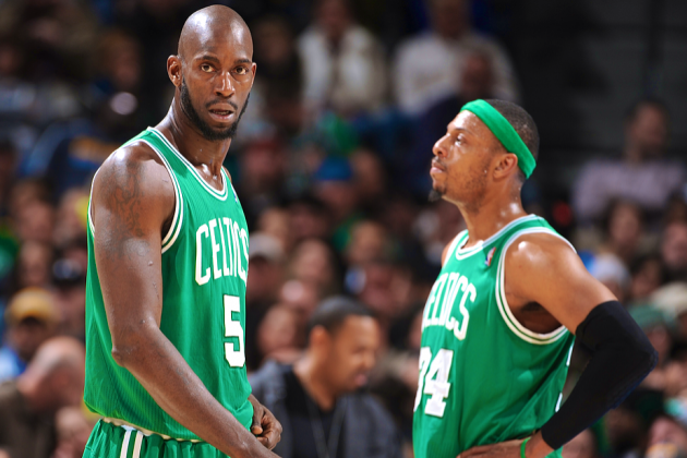 Kevin Garnett, Paul Pierce Will Reportedly Be Traded from Celtics to Nets