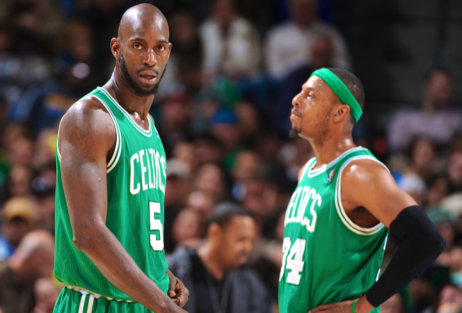 Kevin Garnett, Paul Pierce Reportedly Center of Potential Celtics and Nets Trade