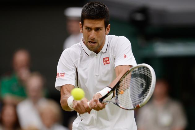 Novak Djokovic Defeats Bobby Reynolds to Advance at 2013 Wimbledon