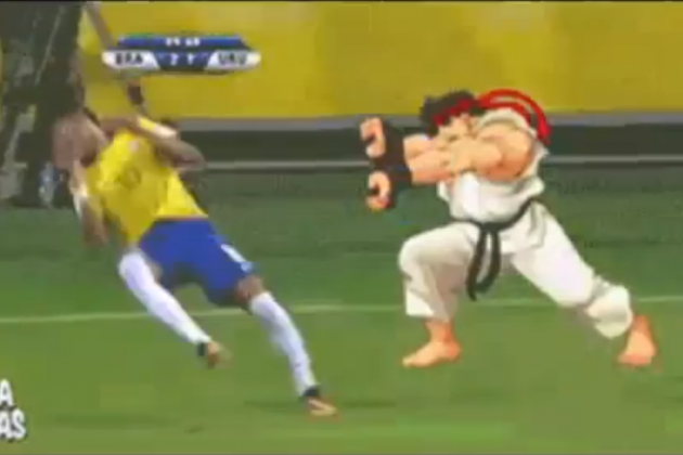 Neymar Street Fighter Meme Takes Over the Internet Following Ridiculous Dive