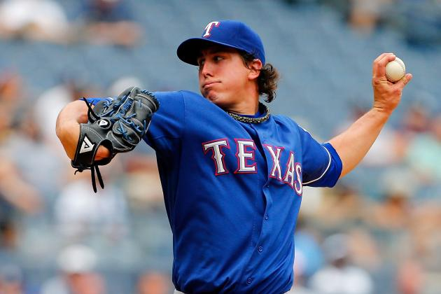 Derek Holland Hurls Sixth Career Shutout in Rangers' Win over Yanks
