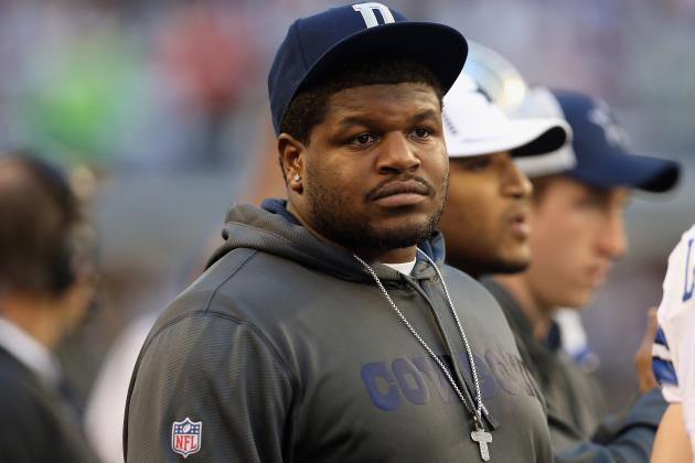 Cowboys DT Josh Brent Jailed After Testing Positive for Marijuana