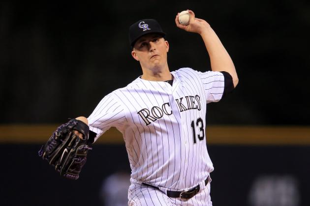 Drew Pomeranz to Start Sunday for Rockies in Colorado vs. Giants