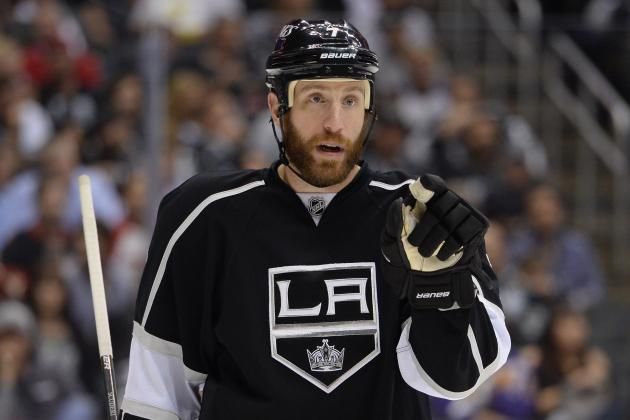 Kings 'Plug Away' on Rob Scuderi Deal