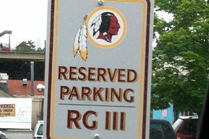 TwitPic: RG3's Arby's Parking Spot