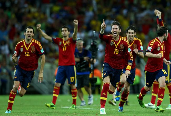 GIFs: Navas Scores Winning Penalty for Spain vs. Italy (and Other Key Moments)
