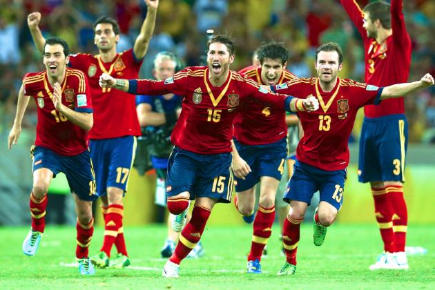 Spain Outlast Italy, Win Penalty Shootout in Confederations Cup Semifinal