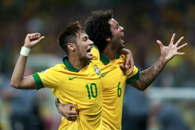 Spain vs Brazil: Previewing Confederations Cup Final Showdown