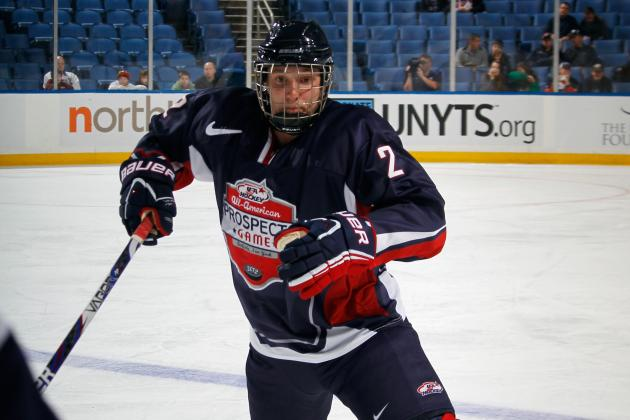 Keaton Thompson: Prospect Profile for Anaheim Ducks' 3rd-Round Pick