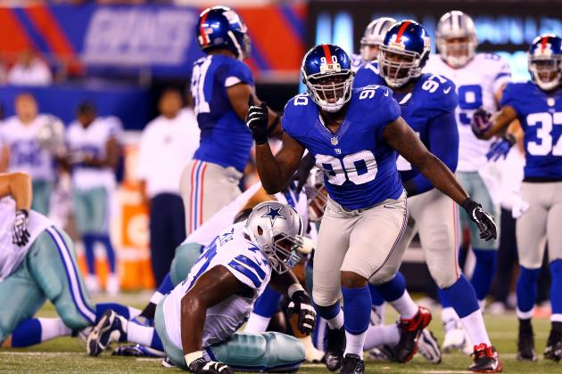 Pressure Is on New York Giants Defense to Improve in 2013