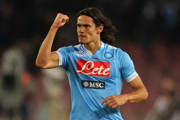 Laurentiis Wont Speak with Cavani