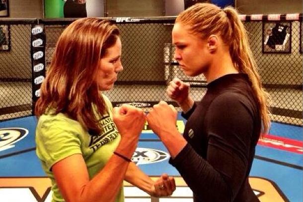 Instagram: Ronda Rousey vs. Julie Foudy