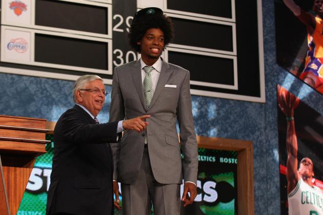 Brazilian Prospect Lucas Nogueira Wins 2013 NBA Draft with Awesome Afro