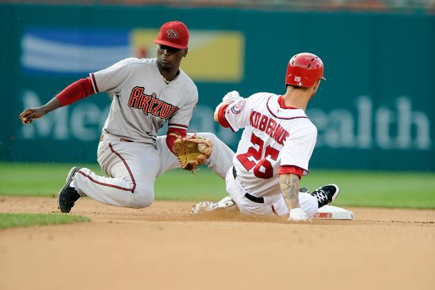 D-Backs Top Nationals on Bunt in 11th Inning