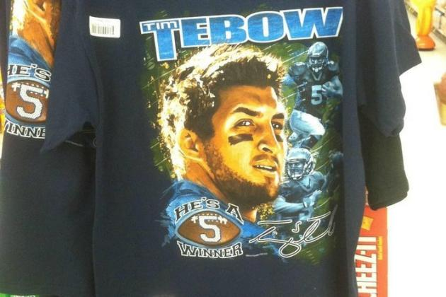 The Most Majestic Tim Tebow T-Shirt