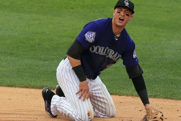 Tulowitzki Progressing with Broken Rib