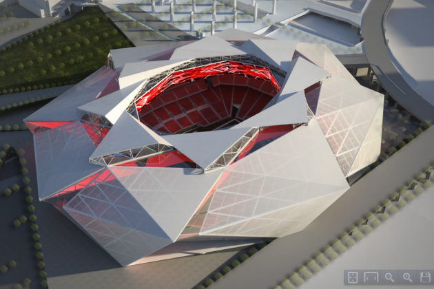 New Falcons Stadium Negotiations Hit a Wall