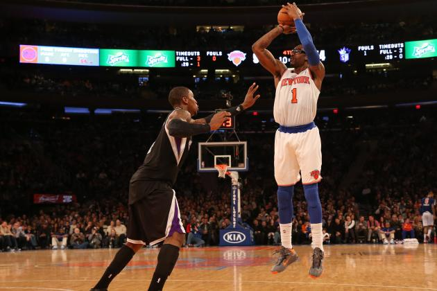Why NY Knicks Must Transform Amar'e Stoudemire into 3-Point Shooter