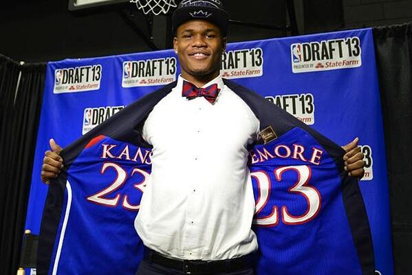 Photos: Ben McLemore, Nerlens Noel Rock Sweet Suits with Jerseys