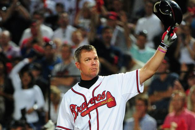 Chipper to Be Inducted into Team HOF, Have No. 10 Retired