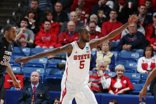 NC State's C.J. Leslie and Temple's Khalif Wyatt Headline List...