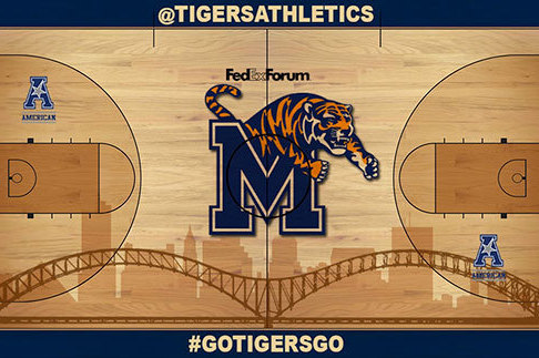 Tiger Fans Select Basketball Court Design