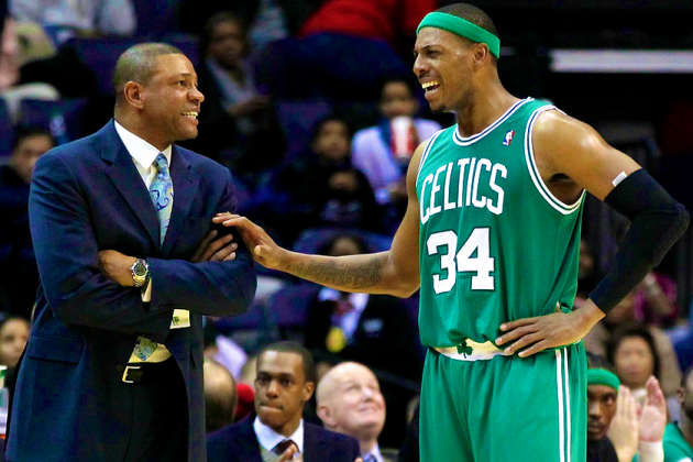 How Will Boston Celtics Remember Departed Doc, Pierce and KG?