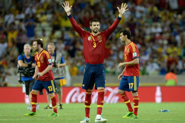 Brazil vs. Spain: Starting Lineup and Matchup Analysis for Confed Cup Final