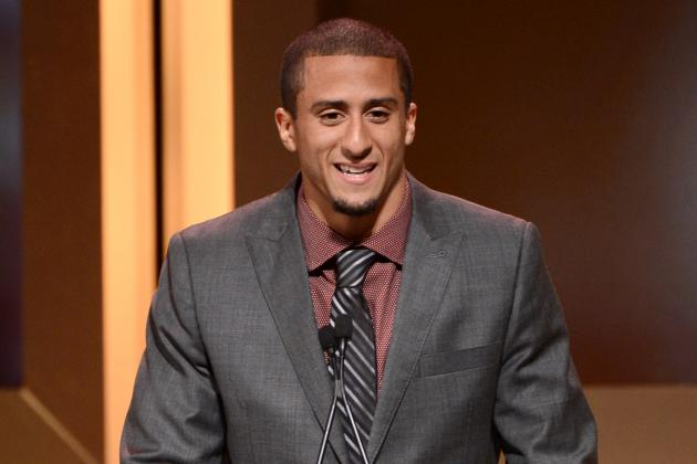 ESPY Nominations: Colin Kaepernick Nominated for Best Breakthrough Athlete