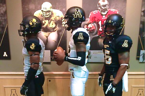 Appalachian State Football Dons New Solid Uniforms That Are Far from Duds