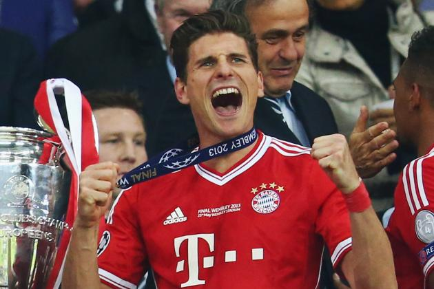Manchester City Target Mario Gomez to Fill Void Left by Departing Carlos Tevez