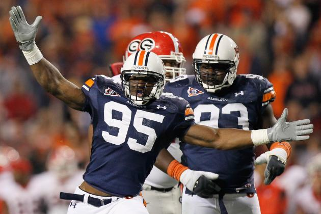 Auburn's Defensive Line Could Go From Punchline to Power in 2013