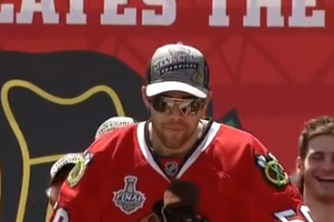 Crawford Drops NSFW Language During 'Hawks Parade