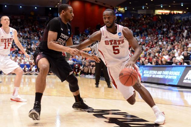 Undrafted NBA Free Agents 2013: C.J. Leslie and Top Player at Each Position