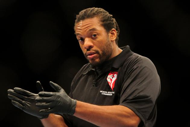 Referee Herb Dean Chosen as Official for Anderson Silva vs. Chris Weidman Bout