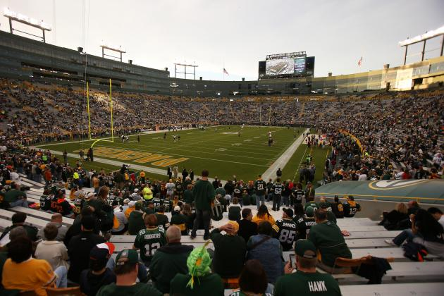 New Lambeau Field Seats Claimed, Near Completion