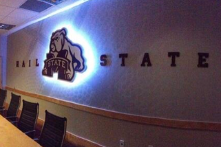 Photo: Mississippi State Added Crazy New LED Sign to Basketball