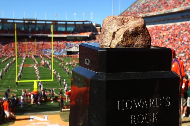 Clemson Police Arrest Alleged Tigers Fan Who Vandalized Howard's Rock