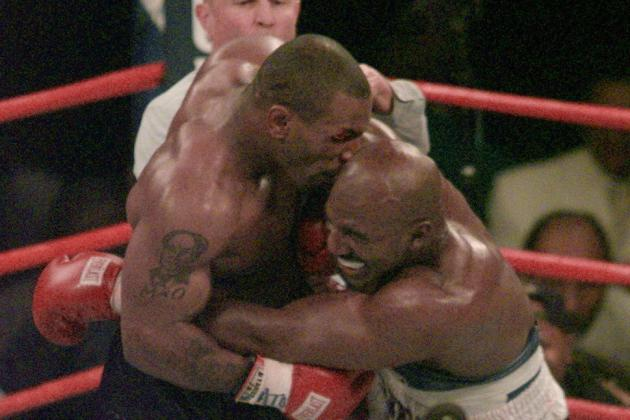Anniversary of Mike Tyson Biting Evander Holyfield's Ear