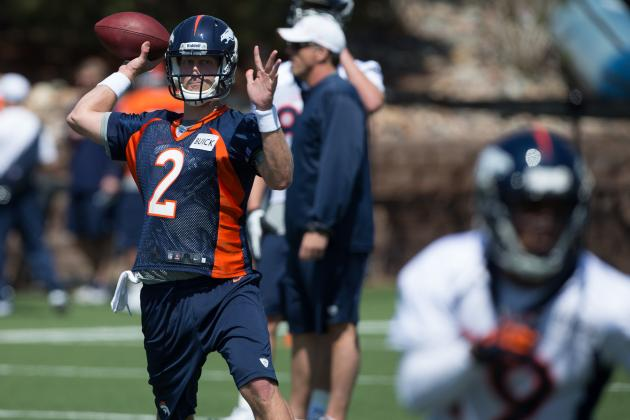 Broncos' Zac Dysert on Gruden's QB Camp