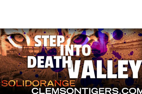 Photo: Clemson's New Football Billboard Is Awesome and Intimidating