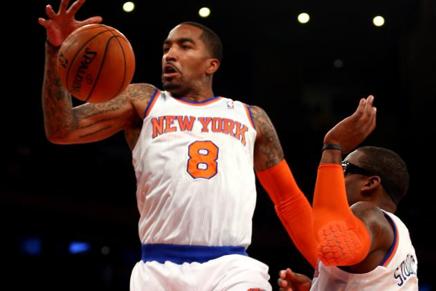 J.R. Smith Trolls Knicks Fans on Twitter