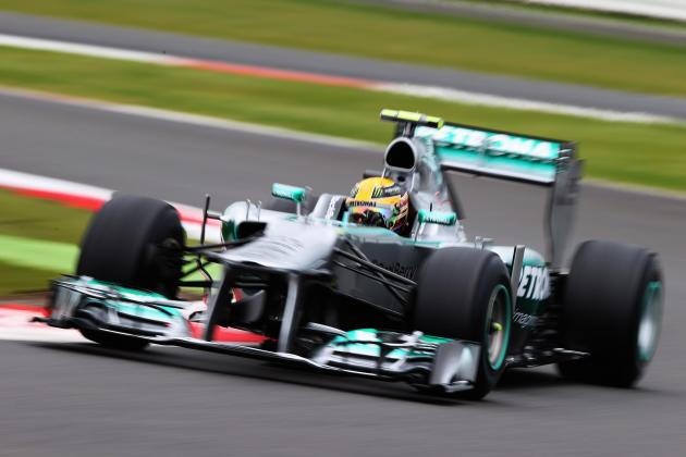 British GP: Lewis Hamilton Reprimanded over Pit Entry Move