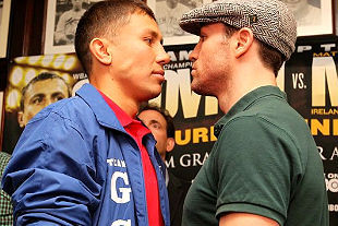 Golovkin vs Macklin: Both Fighters at 159, HBO Main Event Is on
