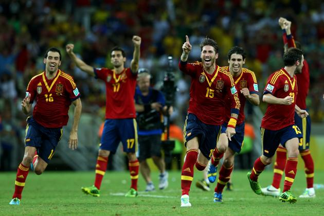 Brazil vs. Spain: La Roja Will Solidify Dominance in Confederations Cup Final
