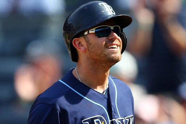 Longoria Leaves in 2nd Inning