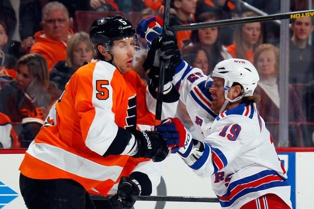 NHL Trade Rumors: Potential Deals for Philadelphia Flyers' Braydon Coburn