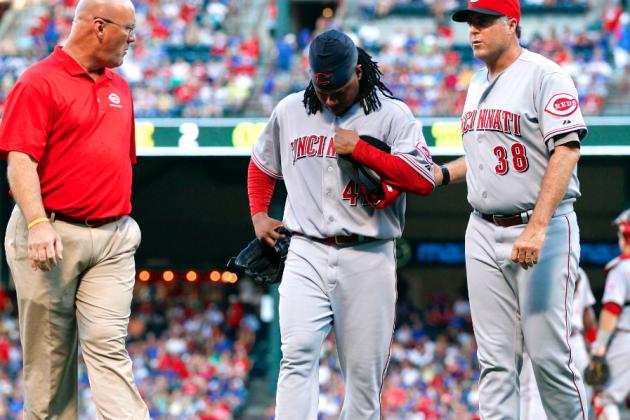 Johnny Cueto Injury: Updates on Reds Pitcher's Lat
